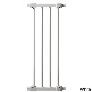Kidco 10 inch Angle Mount Safeway Gate Extension Kit (10 inchesMaterials MetalDimensions 29 inches high x 1.2 inches wide x 10.5 inches longAssembly Required )