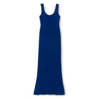 Merona Petites Sleeveless Maxi Dress   Blue SP