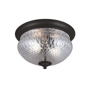Sea Gull Lighting SEA 7826402 12 Garfield Park Two Light Outdoor Ceiling Flush M