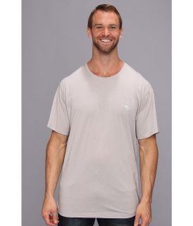 Tommy Bahama Big Tall Cotton Modal Knit S/S Tee Mens T Shirt (Silver)