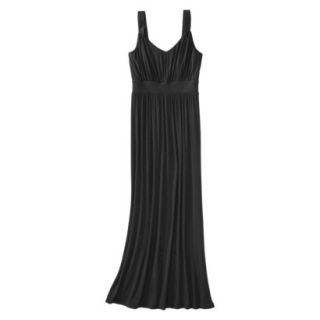 Merona Petites Sleeveless Maxi Dress   Black XXLP