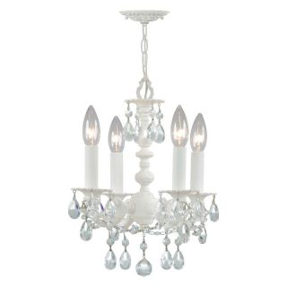 Crystorama Paris Flea Chandelier 5514 WW CL MWP Multicolor   5514 WW CL MWP
