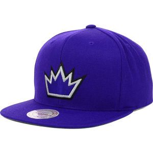 Sacramento Kings Mitchell and Ness NBA Solid Snapback