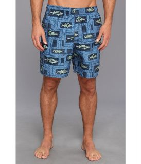 Quiksilver Waterman Pontoon Volleys Mens Swimwear (Black)
