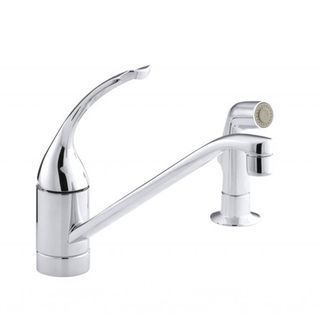 Coralais Single control Polished Chrome Kitchen Sink Faucet