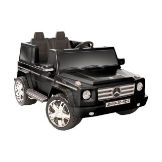 Kid Motorz Mercedes Benz G55 AMG Two Seater Battery Powered Riding Toy   Black