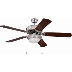 Ellington Fans ELF E209BNK Pro 209 52 Ceiling Fan Motor only with Optional Ligh