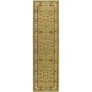 Lyndhurst Collection Majestic Beige/ Ivory Runner (23 X 20)