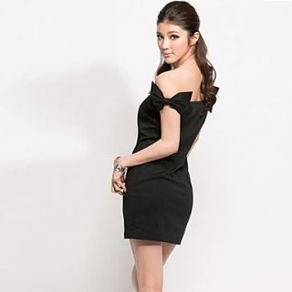 Bow Sexy Strapless Package Sexy Women Dress