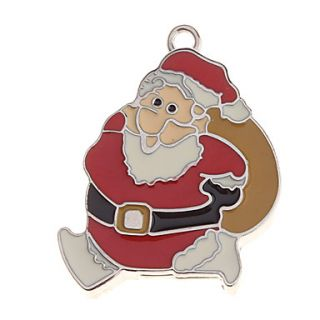 Christmas Man Feature Metal USB Flash Drive 4G
