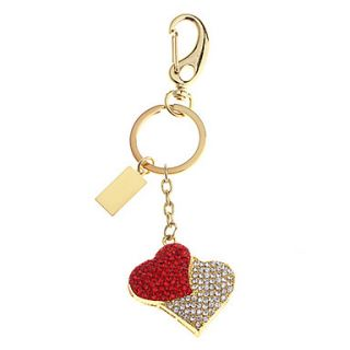 Lovers Heart Feature Metal USB Flash Drive 8G