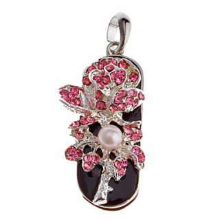 Pearl Feature Metal USB Flash Drive 4G