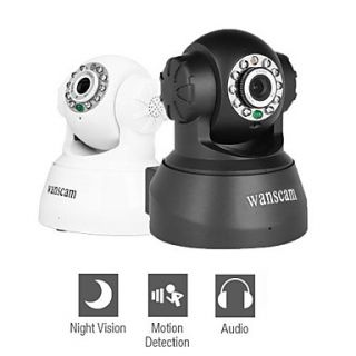 Wanscam   Wired IP Network Camera with Angle Control (Motion Detection, Night Vision, Free DDNS)