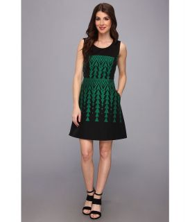 Kenneth Cole New York Allex Dress Womens Dress (Green)