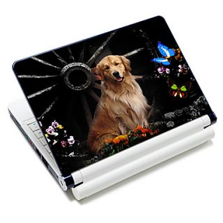 Golden Retriever Pattern Laptop Notebook Cover Protective Skin Sticker For 10/15 Laptop 18610