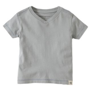 Burts Bees Baby Toddler Boys V Neck Tee   Fog 2T