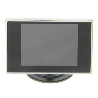 3.5 Inch Car Rearview TFT LCD Screen Monitor