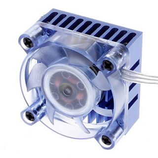 AK 210 Chipset 3 hi bright Blue LED Low noise Cooler for PC