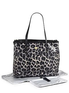 Kate Spade New York Harmony Leroy Street Animal Print Bag   Grey Leopard