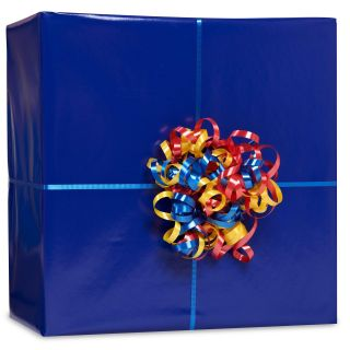 Royal Blue Gift Wrap Kit