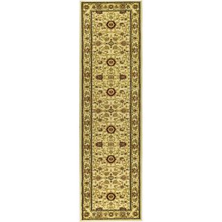 Lyndhurst Collection Majestic Ivory/ Ivory Runner (23 X 14)