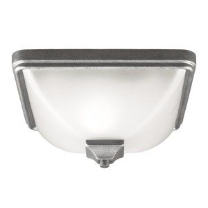 Sea Gull Lighting SEA 7828401BLE 57 Irving Park One Light Outdoor Ceiling Flush