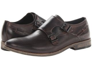 Kenneth Cole Reaction Pin Ball Mens Monkstrap Shoes (Brown)