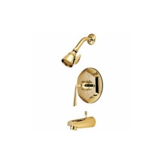 Elements of Design EB4632ZL Syracuse Single Handle Tub & Shower Faucet