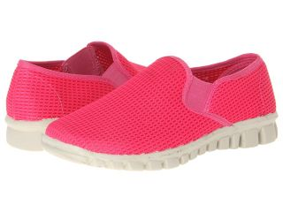 Deer Stags Dynasty Womens Slip on Shoes (Pink)
