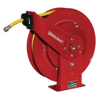 Reelcraft Heavy Duty Water 1/2 in. Hose Reel   50 ft. Multicolor   7850 OLPSW57