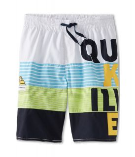 Quiksilver Kids Apollo Volley Boys Swimwear (White)