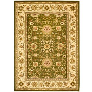 Lyndhurst Collection Majestic Sage/ivory Rug (8 X 11)