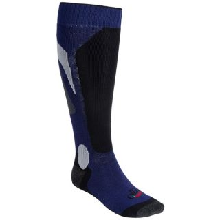 Hot Chillys Mid Volume Socks (For Men)   NAVY/BLACK/CHARCOAL (L )