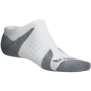 Bridgedale Xhale Cool Socks (For Men and Women)   WHITE/GREY (S )