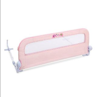 Summer Infant Safe and Secure Deluxe Pink N Plush Bedrail