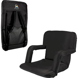 Ventura Seat   MLB Teams Miami Marlins   Black   Picnic Time Outdoor