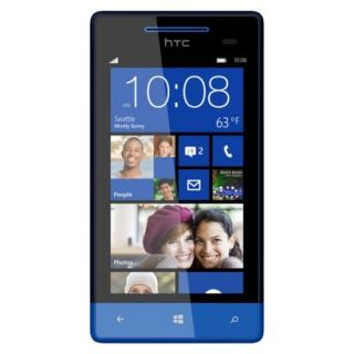 HTC 8x Unlocked Cell Phone for GSM Compatible   Blue