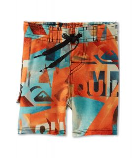 Quiksilver Kids Night Waka Boardshort Boys Swimwear (Orange)